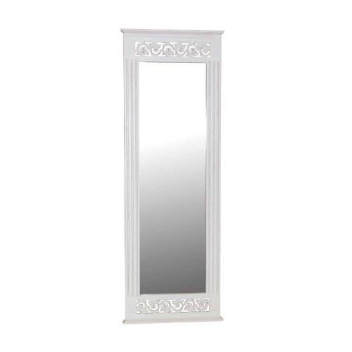 White paint for White tall wall mirror
