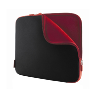 15.6 Neoprene Black and Red Sleeve