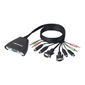 2-Port KVM Switch with Audio Support /