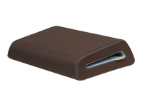 NOTEBOOK CUSHTOP CASE CHOCOLATE W/TOURMALINE