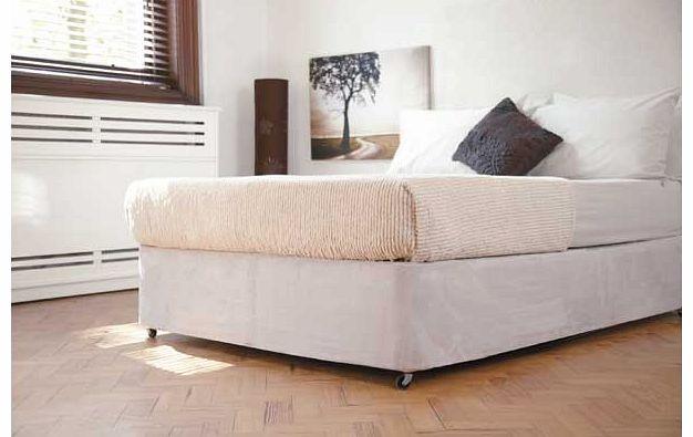 Belledorm linen base wrap 15 superking bedding review for Divan bed sheet