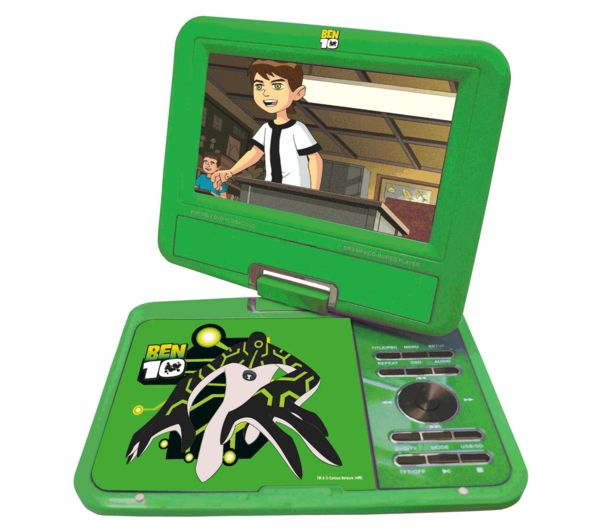 Ben 10 7 Portable DVD Player - Green