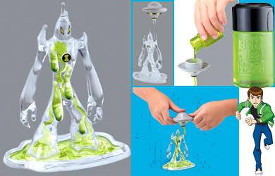 ben 10 alien force goop toy eBay