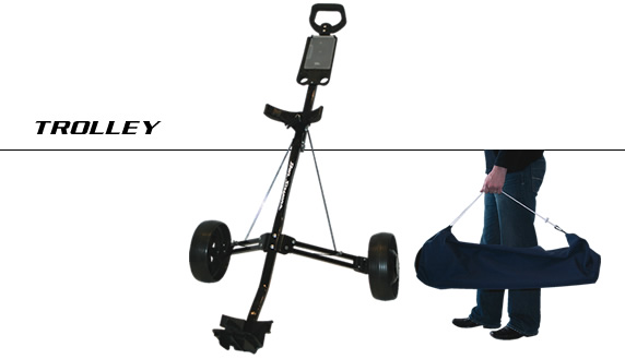 Light Golf Trolley and Bag