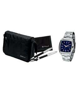 http://www.comparestoreprices.co.uk/images/be/ben-sherman-gents-quartz-watch-bag-pen-and-wallet-set.jpg