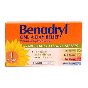 benadryl for Normal adults of dosage