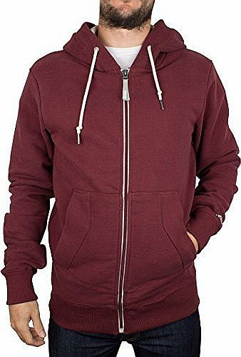 Bench - Red Roundacurve Hoodie - Men - Size: L product image
