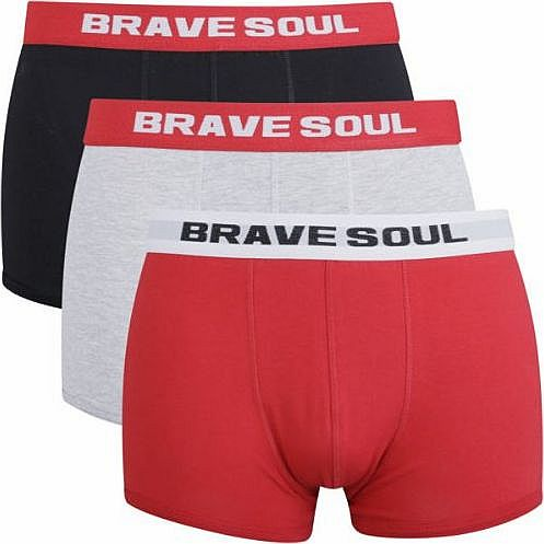 Bench Brave Soul Mens 3-Pack Boxers product image