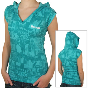 Bench Ladies In The City Hooded tee shirt