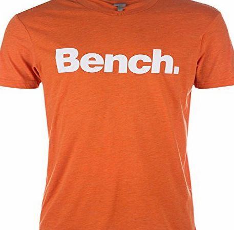 Bench Mens Bench Mens Corporation E Reg T-Shirt in Orange - S