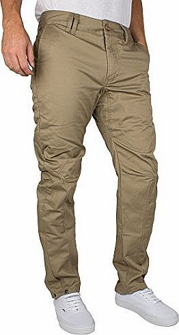 Bench Mens Pivotspin Chinos, Brown, 28W x 32L product image
