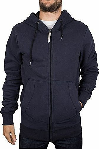 Bench Mens Roundacurve Hoodie, Blue, Medium product image