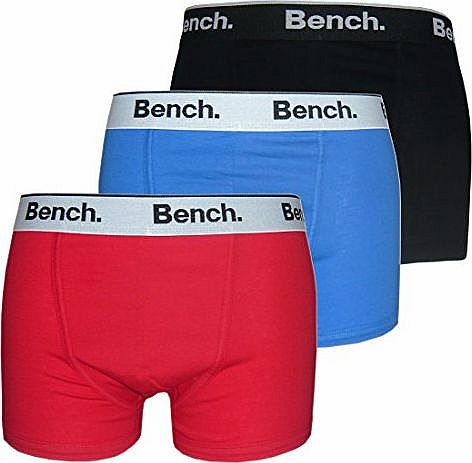 Bench Trunk (3 Pack) (Medium, Red/Black/Blue) product image
