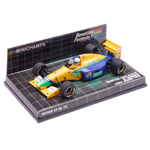 benetton B191B - 1992 - #20 M. Brundle