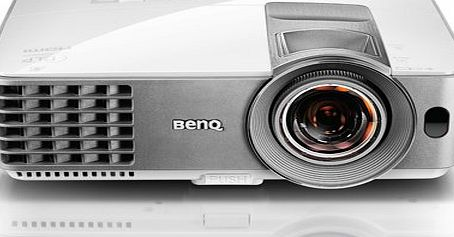 BenQ MW632ST WXGA DLP Projector (3200 Lumens, 16:10, Short Throw, Long Lamp Life, Power Saving, HDMI x 2, MHL, USB Power, Auto Vertical Keystone)