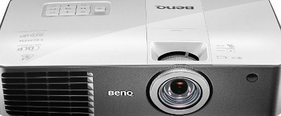 BenQ W1400 DLP DC3 DMD 1080p Full HD Video Projector - White/Grey