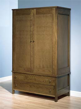 Newhaven Large Double Wardrobe