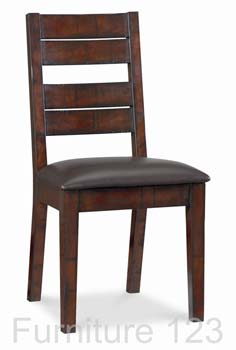 Todela Dark Dining Chairs (pair)