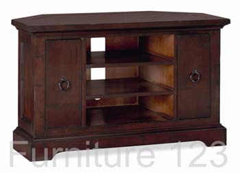 Toledo Dark Corner TV Unit