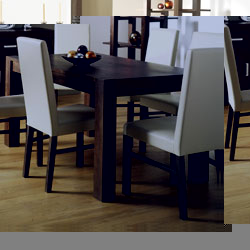 Bentley Lyon Walnut Extendable Dining Table & 6 Standard product image