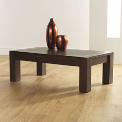 Bentley Lyon Walnut Rectangular Coffee Table product image