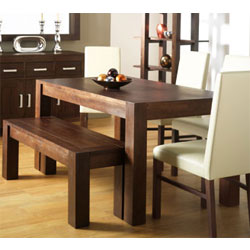 Bentley Lyon Walnut Small Dining Table & 4 Standard product image