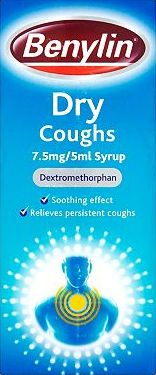 Benylin, 2041[^]10081064 Dry Coughs 7.5mg/5ml Syrup 10081064