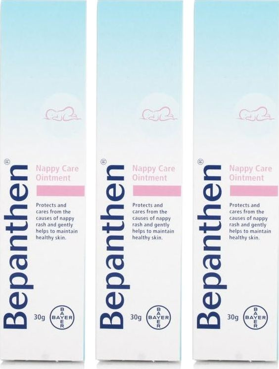Bepanthen, 2102[^]0099553 Nappy Care Ointment 30g - Triple Pack