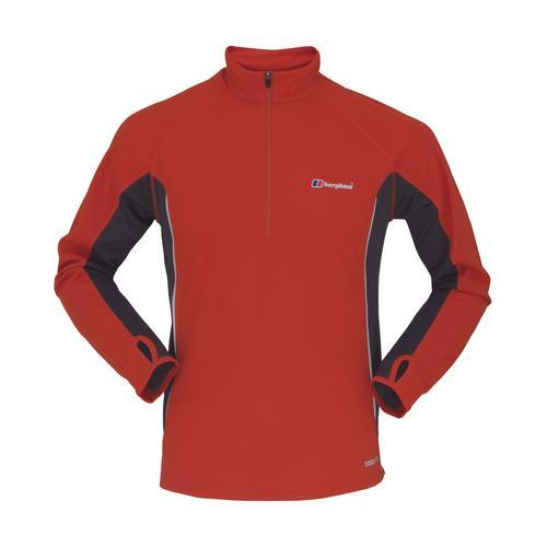 Berghaus Mens Active Long Sleeve Zip Neck T Shirt Review