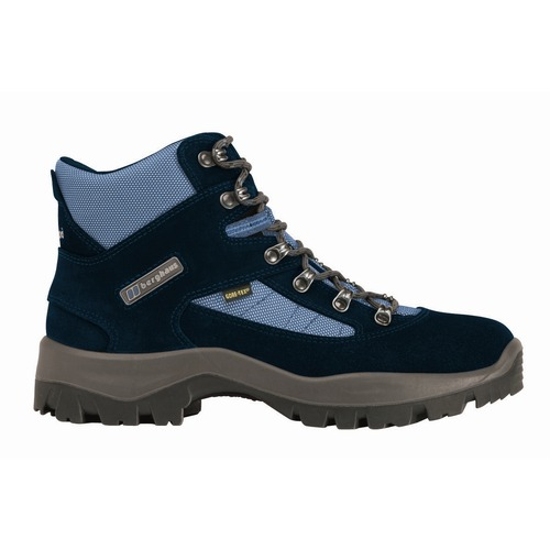 A lightweight performance trekking boot designed for maximum comfort and durability, Explorer V GTX has a suede upper with a waterproof and breathable Gore-Tex® membrane so it is suitable for year-round use. The foot is held to the platform by a  - CLICK FOR MORE INFORMATION