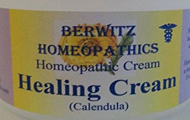 BERWITZ HOMEOPATHY HEALING CREAM 50g with organic tincture of Calendula. For BABY ECZEMA and Itching dry irritated skin on Babies and Children