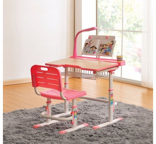 Best Desk Kids Desk Chair with FREE Steel Bookstand Height Adjustable  530 x 491