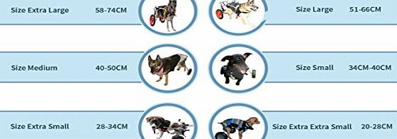 Best Friend Mobility Dog Wheelchair, Large(60-100 lbs)
