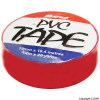 PVC Red Tape 18.4Mtr x 19mm Pack of 10