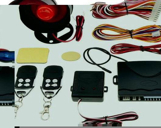 Practical Auto Car Alarm Protection System + 2 Remote Control