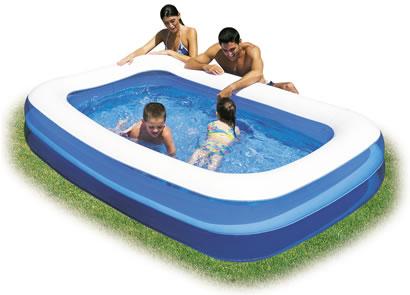 Bestway family paddling pool 9ft garden accessorie for 9 ft garden pool
