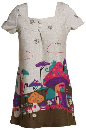 Knit Print Dress | Kid Girl Dresses - Baby Clothing | Toddler