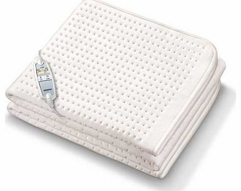 Monogram Premium Heated Mattress Cover - Single