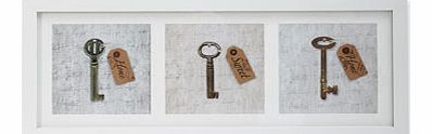 Bhs 3D Home Sweet Home Keys Framed Print Wall Art, - review, compare prices, buy online