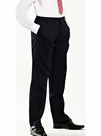 Bhs Boys Senior Boys Navy Slim Fit School Trousers, product image