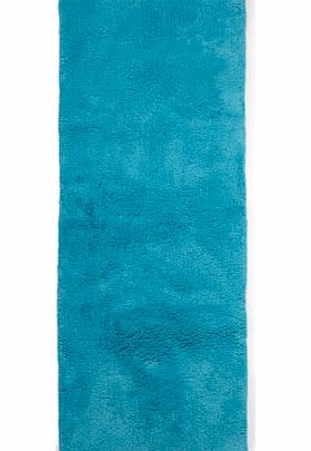 Bright turquoise Ultimate bath mat runner,