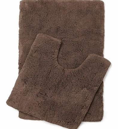Cocoa Ultimate bath and pedestal mats range,