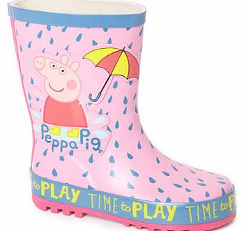 Girls Peppa Pig Wellies, pink 1111490528