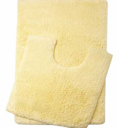 Lemon Ultimate bath and pedestal mats range,