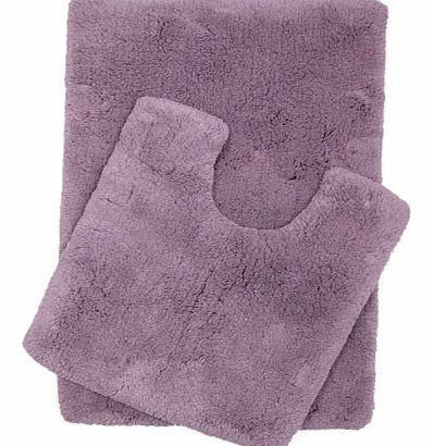 Light purple Ultimate bath and pedestal mats