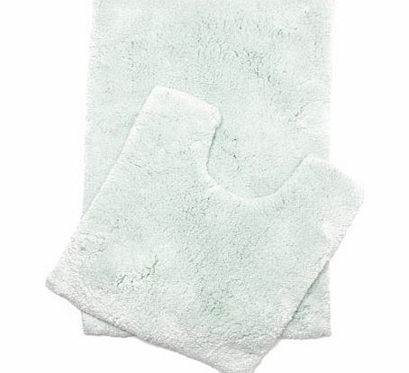 Mint Ultimate bath and pedestal mats range, mint