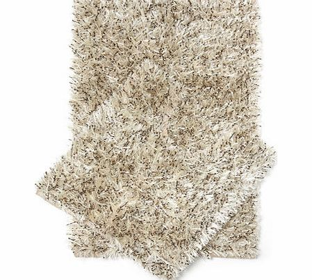 Neutral jungle ribbon bath and pedestal mat