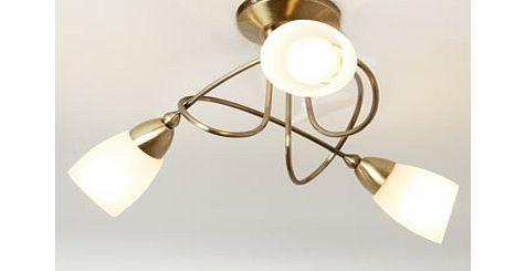 Antique Brass Ceiling Light