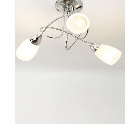 Bhs Ottoni Wall Lights : ceiling light chrome flush fitting