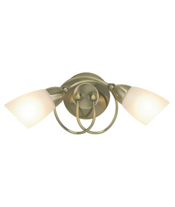 Bhs Ina Wall Lights : bhs Ottoni wall light - Antique Brass - review, compare prices, buy online